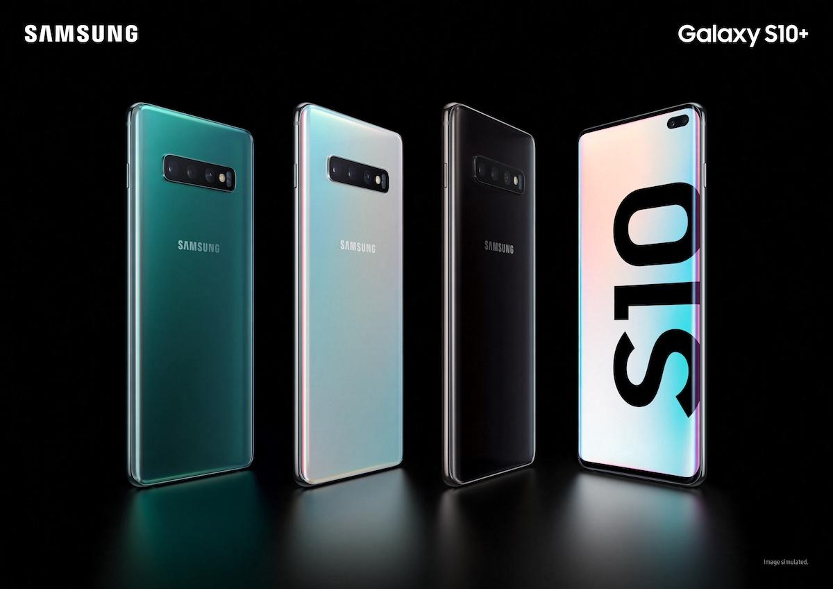 Смартфоны имеют разные цвета корпуса
