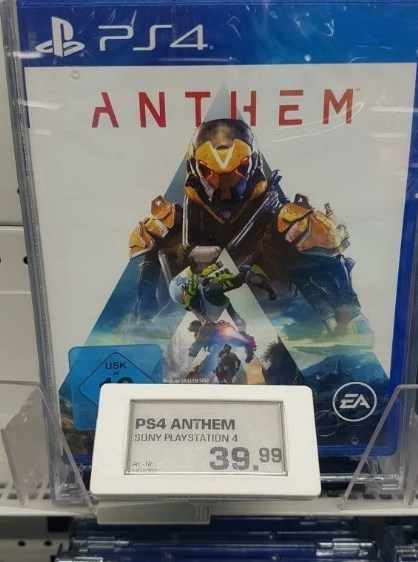Anthem за 39 евро вместо стандартной цены в 60 евро