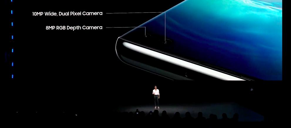 Фронтальных камеры у смартфона теперь две