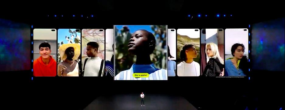 В новых смартфонах Samsung мощные камеры