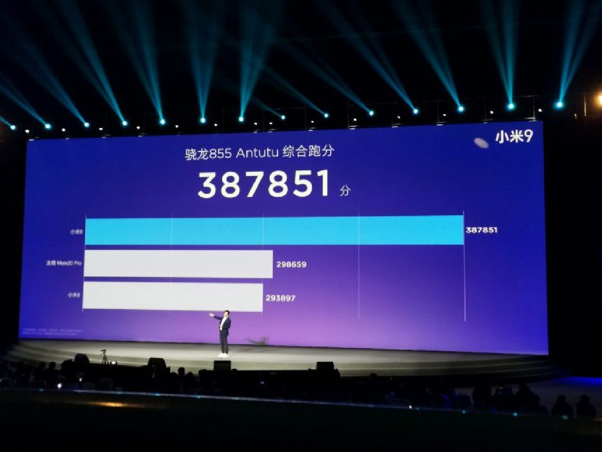 Xiaomi Mi 9 возглавиларейтинг AnTuTu c результатом 387851 баллов