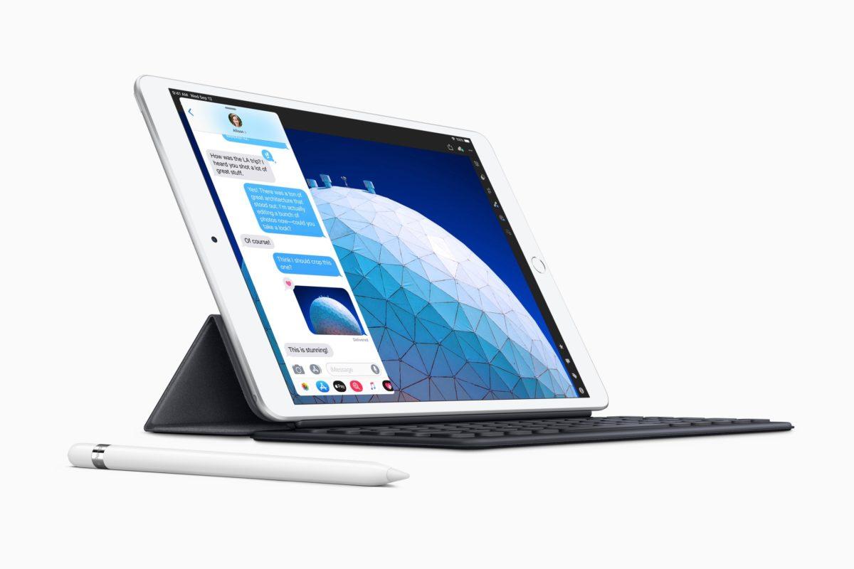 New iPad Air smart keyboard