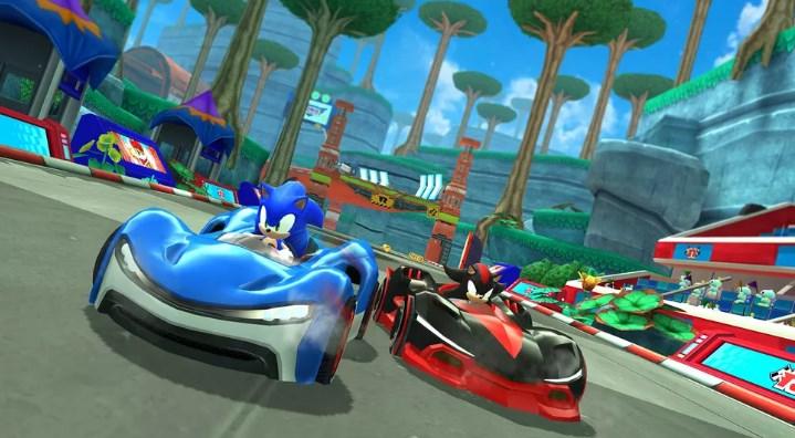 Sonic Racing от SEGA на Arcade