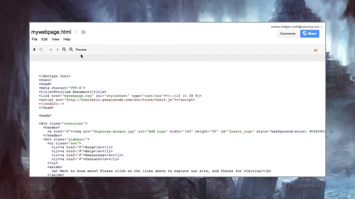 Веб-хостинг в Google Drive