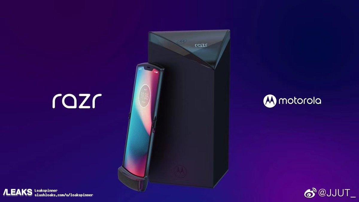 В разложенном состоянии RAZR 2019 похож на обычный смартфон