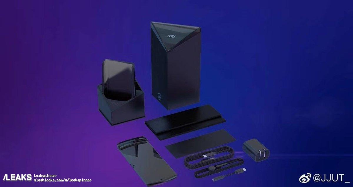 Дизайн коробки призван подчеркнуть необычность смартфона