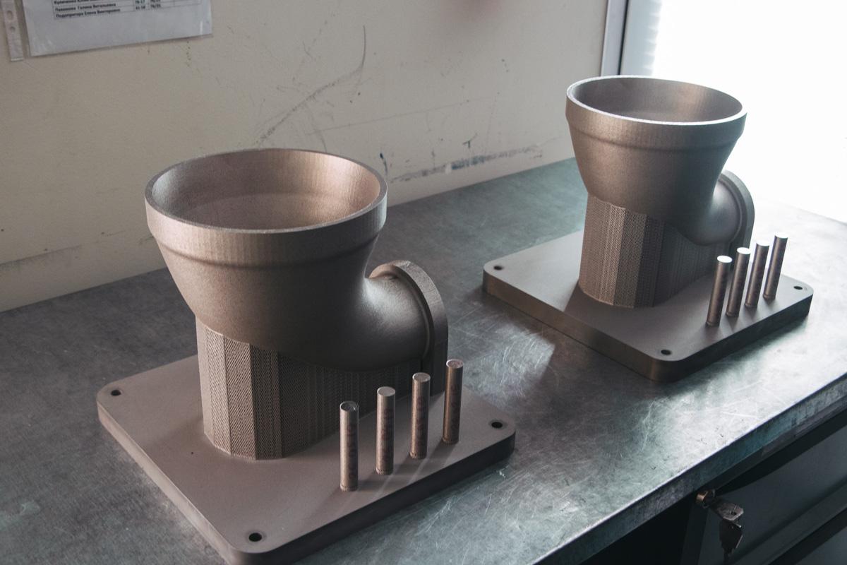 Детали, созданные методом селективного лазерного плавления