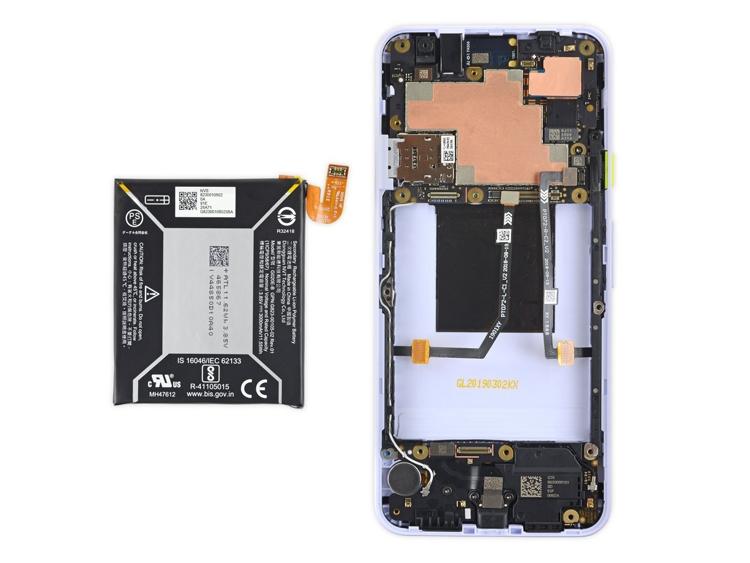Pixel 3A легко поддается ремонту