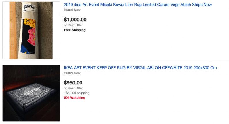 Некоторые изделия в других странах все же попали на eBay