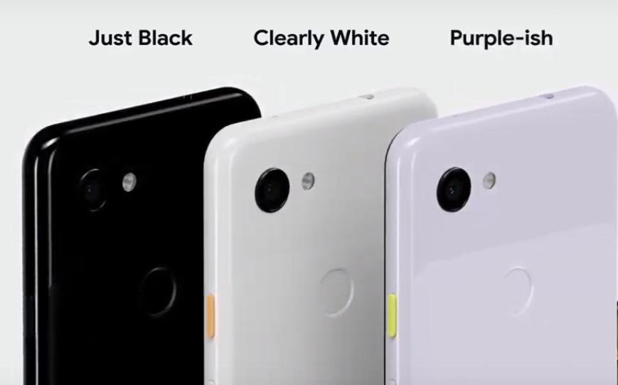 Смартфоны Pixel 3 и Pixel 3 XL