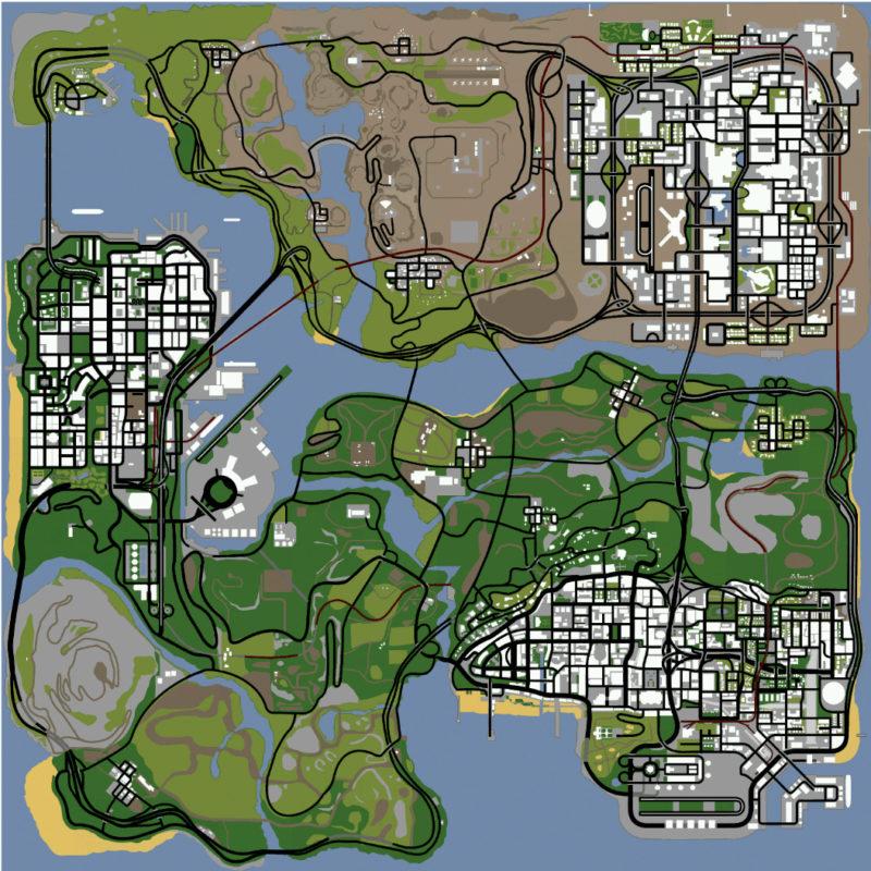 Это предполагаемая карта игры
