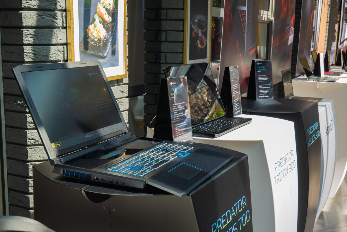 Predator Helios 700 оснащен видеокартой Nvidia GeForce RTX