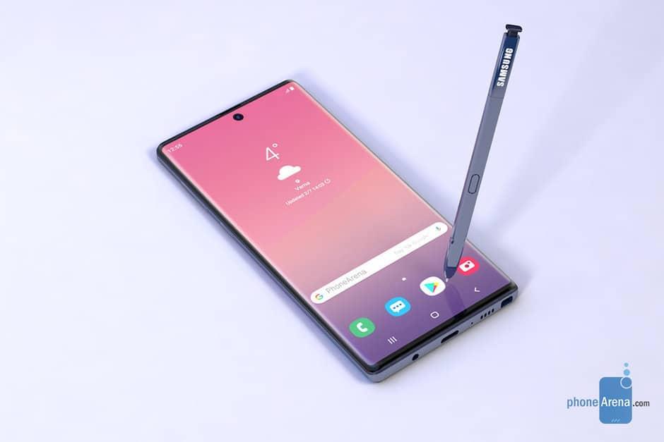 Galaxy Note 10 будет поставляться со стилусом Samsung S Pen