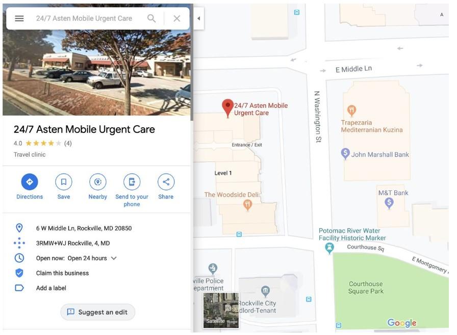 Как определить фиктивные компании на Google Maps