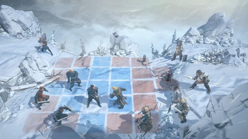 Один из первых скриншотов игры