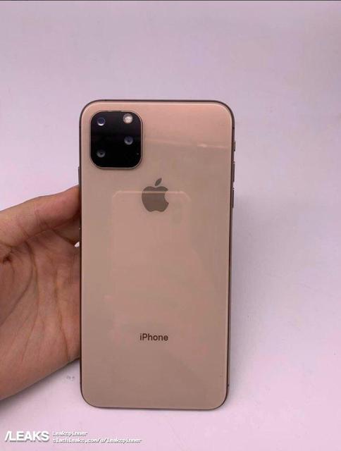 Унового iPhone будеттройная камера ввиде квадрата