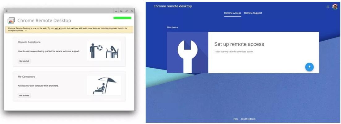 Через Google Chrome можно будет подключаться к другому ПК