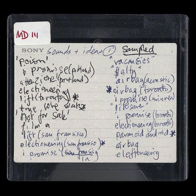 Мини-диск с украденными записями