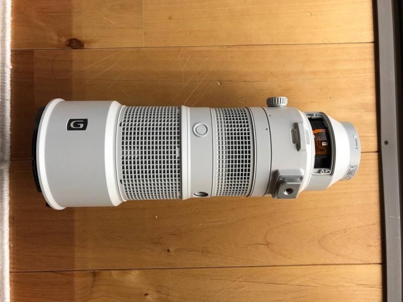 Первые изображения SONY FE 200-600MM F/5.6-6.3 G OSS