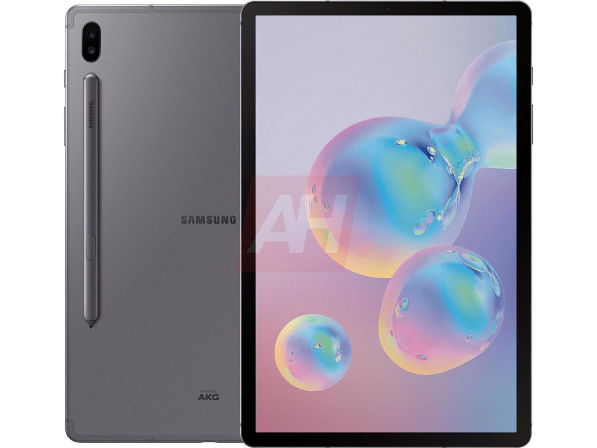 Обновленный дизайн Samsung Galaxy Tab S6