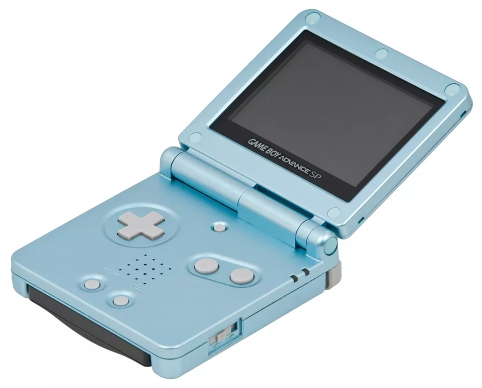The Game Boy Advance SP