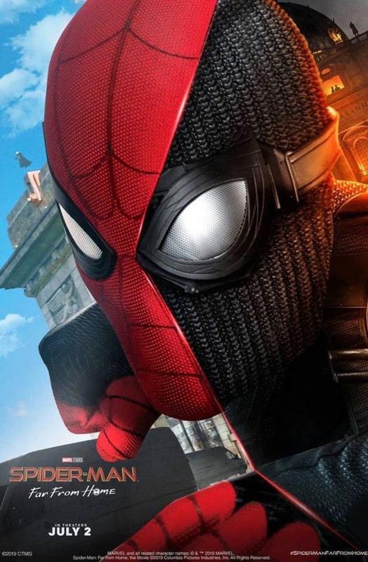 Новый постер фильма «Человек-паук: Вдали от дома»