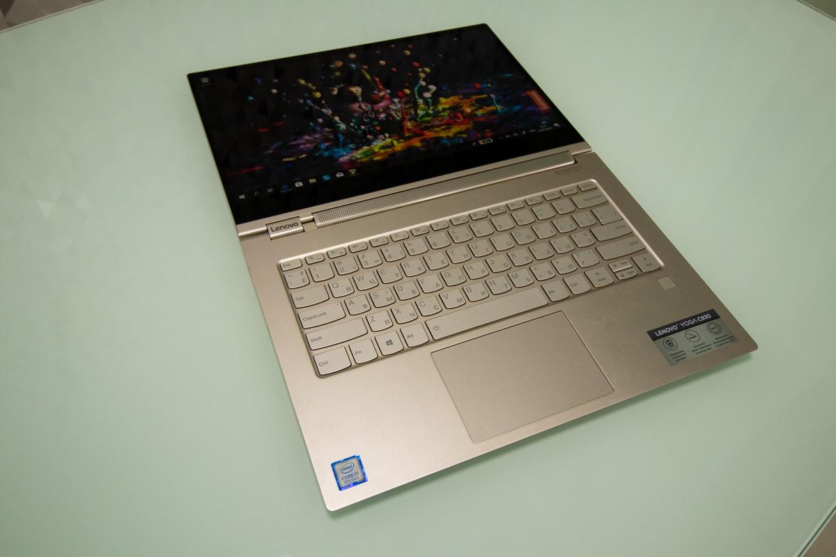 Вага в нього досить невелика, як для ноутбука - майже 1.4кг