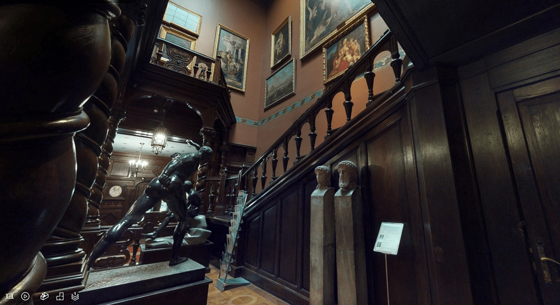 Музей Ханенко в Киеве запустил онлайн 3D-тур