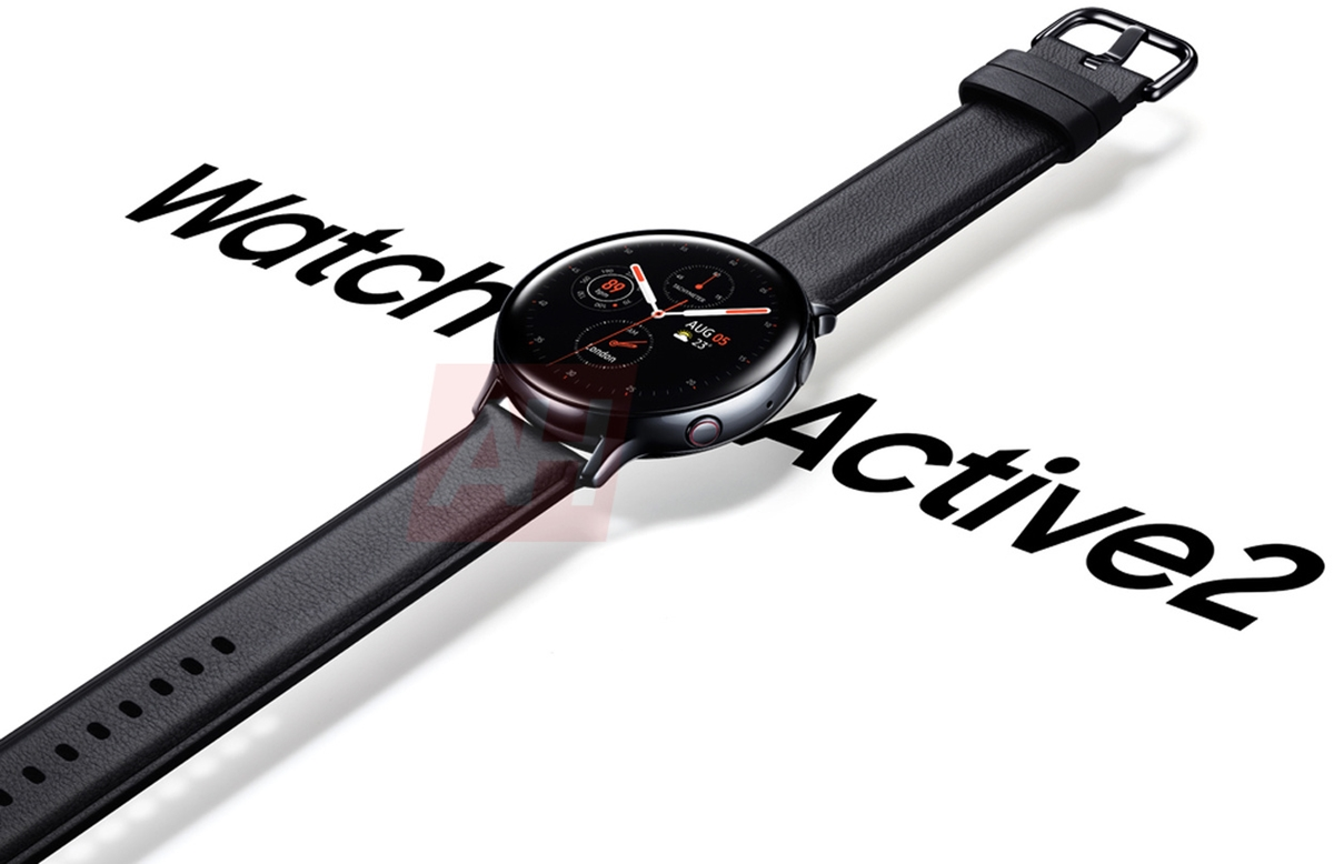 Умные часы Samsung Galaxy Watch Active 2 уже появились на официальном изображении
