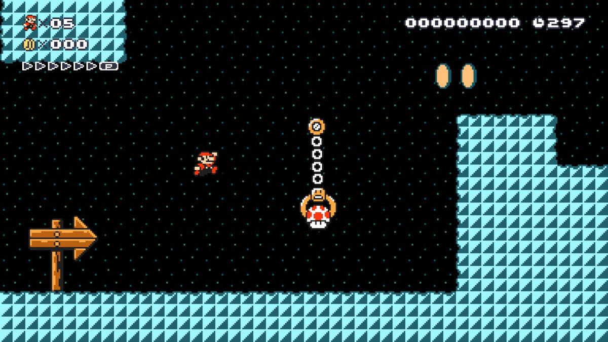 В игре присутствует сразу 5 видов Марио