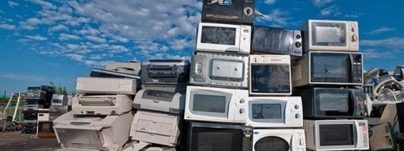 В Киеве открыли пункт приема старой электронной техники