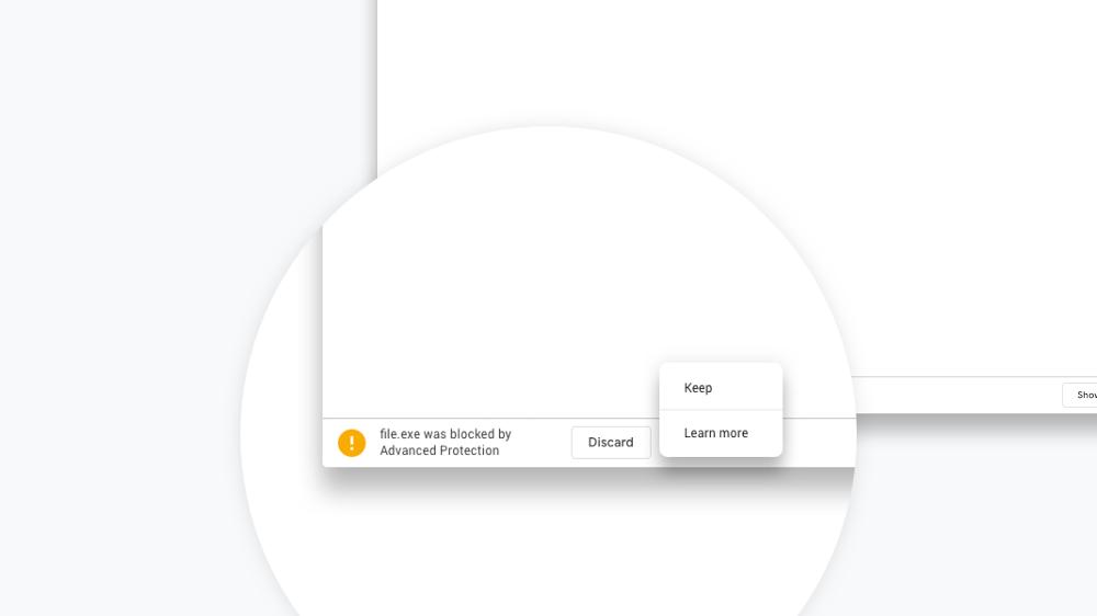 Google защитит пользователей Chrome от загрузки вредоносных файлов