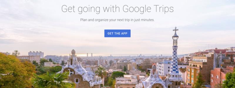 Google закрыла приложение для планирования поездок Trips