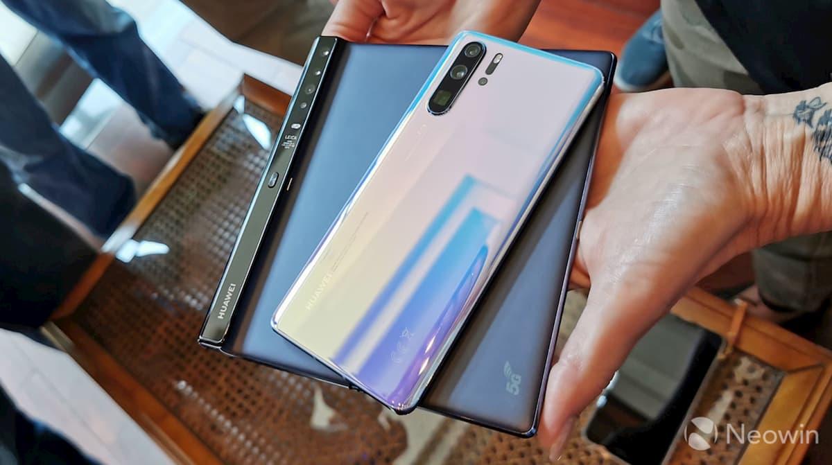 Huawei Mate X получит камеру от P30