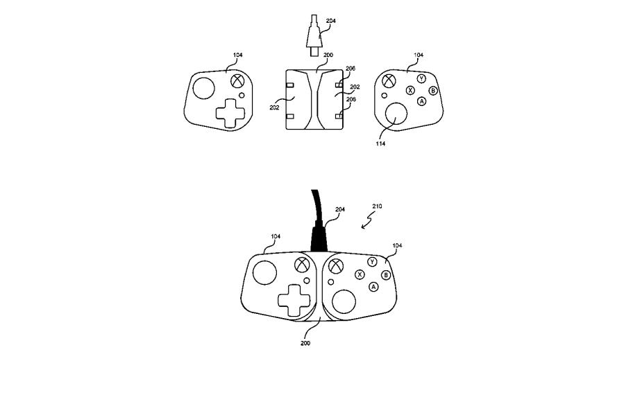 Рисунок с патента будущего гаджета