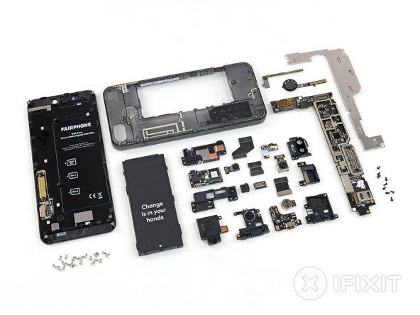 В Fairphone вы сможете и сами заменить все детали дома