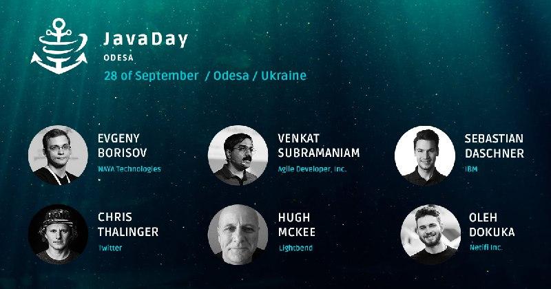 Спикеры JavaDay Odesa