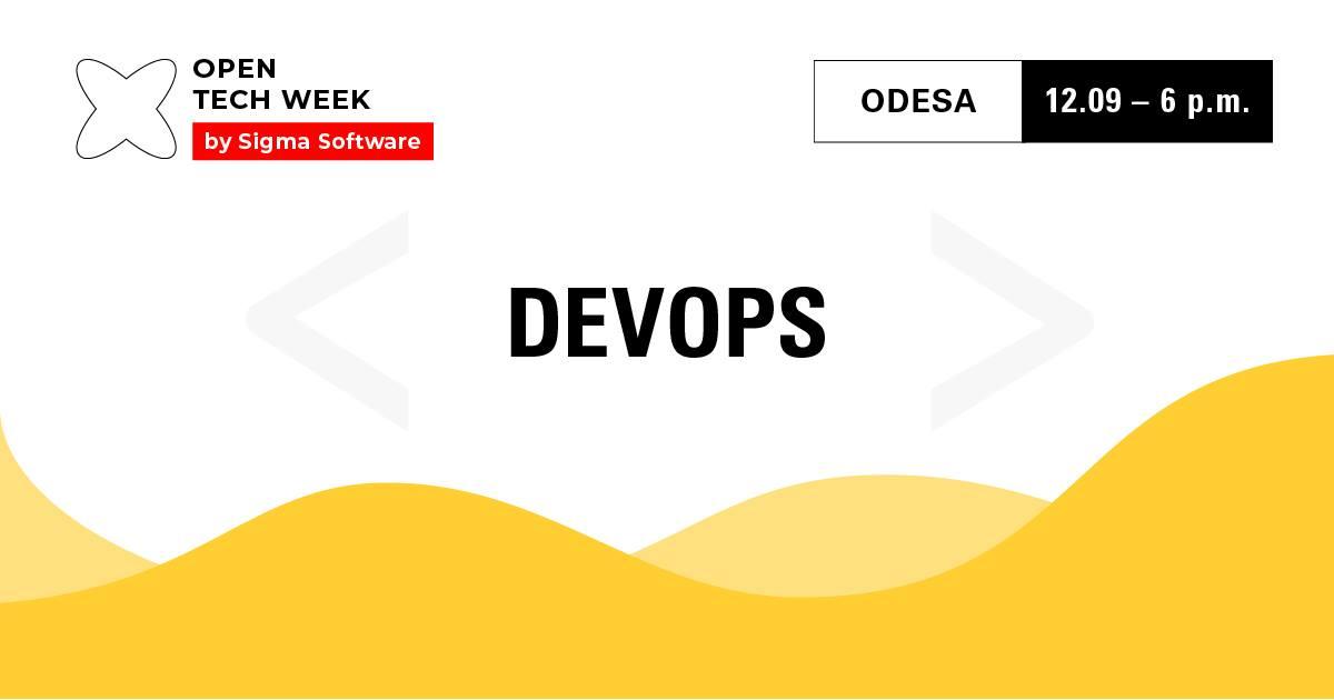 Open Tech Week