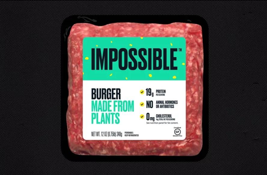 Бургеры с синтетическим мясом поступают в продажу