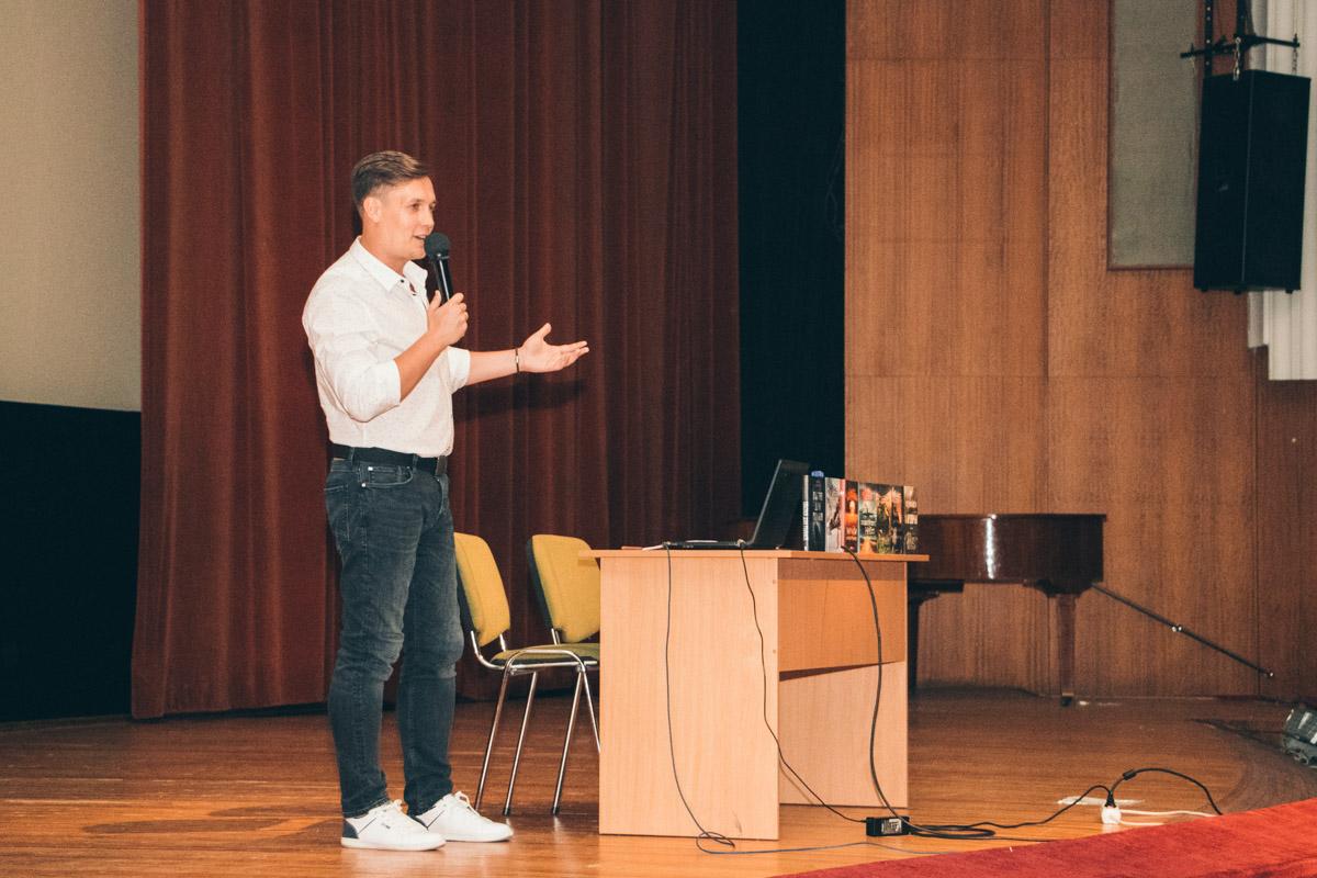 """Презентация книги проходила в Киеве в """"Доме кино"""""""
