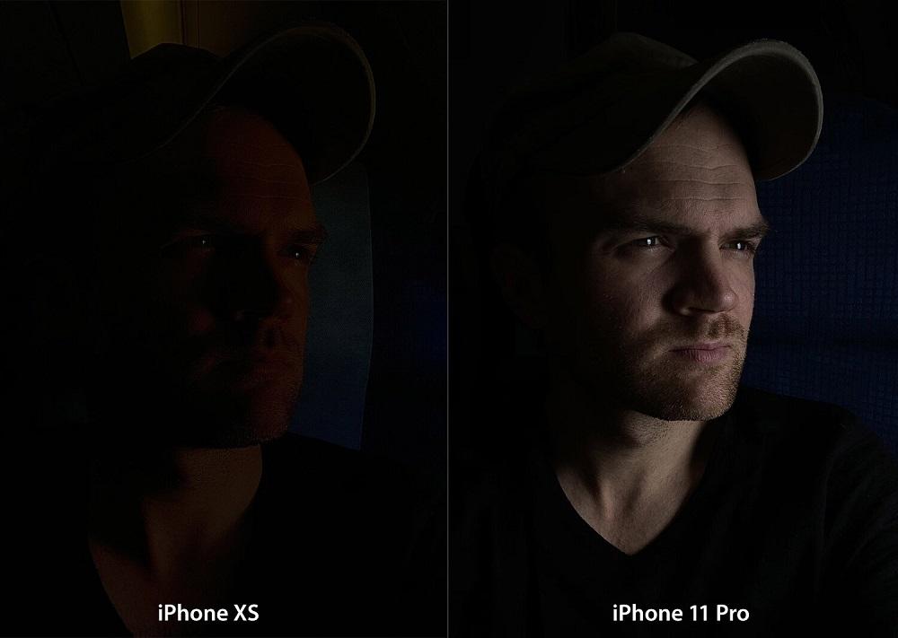 Режим как фотографировать людей в темноте