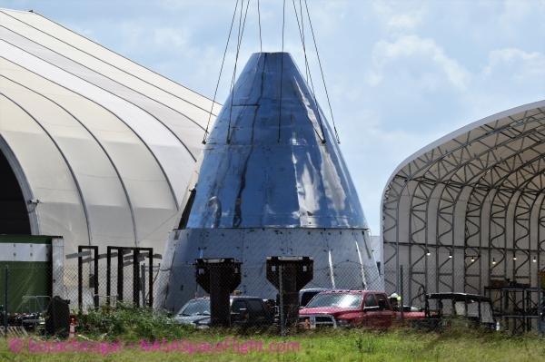 SpaceX очень активно строит ракету Starship
