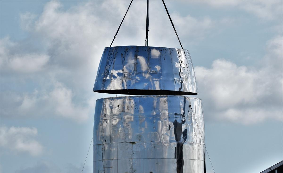 Вот так выглядит ракета