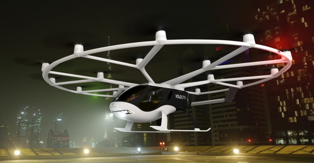 Разработчик беспилотного аэротакси Volocopter привлек €50 млн от владельца Volvo и Geely
