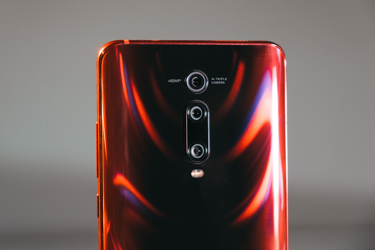 Тройной модуль камеры