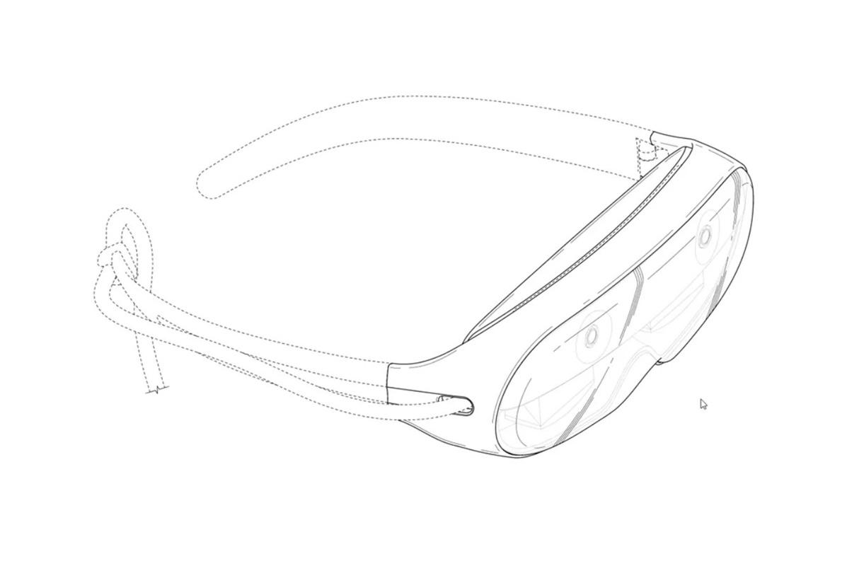 Стал известен дизайн очков дополненной реальности Samsung