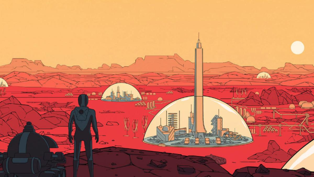 Surviving Mars Epic Games Store