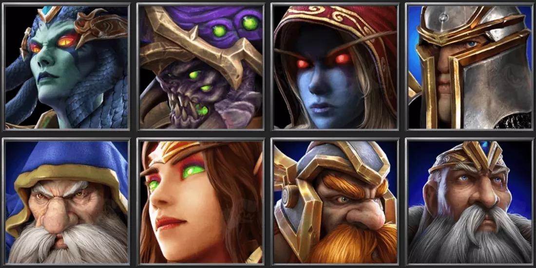 Иконки Warcraft 3