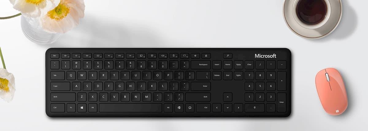 Bluetooth-клавиатура с новыми клавишами от Microsoft
