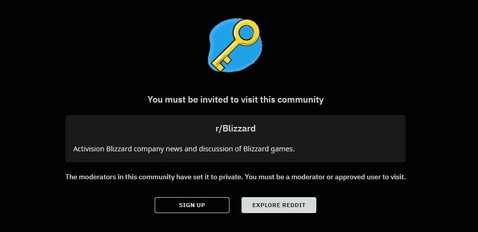 Игроки призвали к бойкоту Blizzard после закрытия раздела компании на Reddit